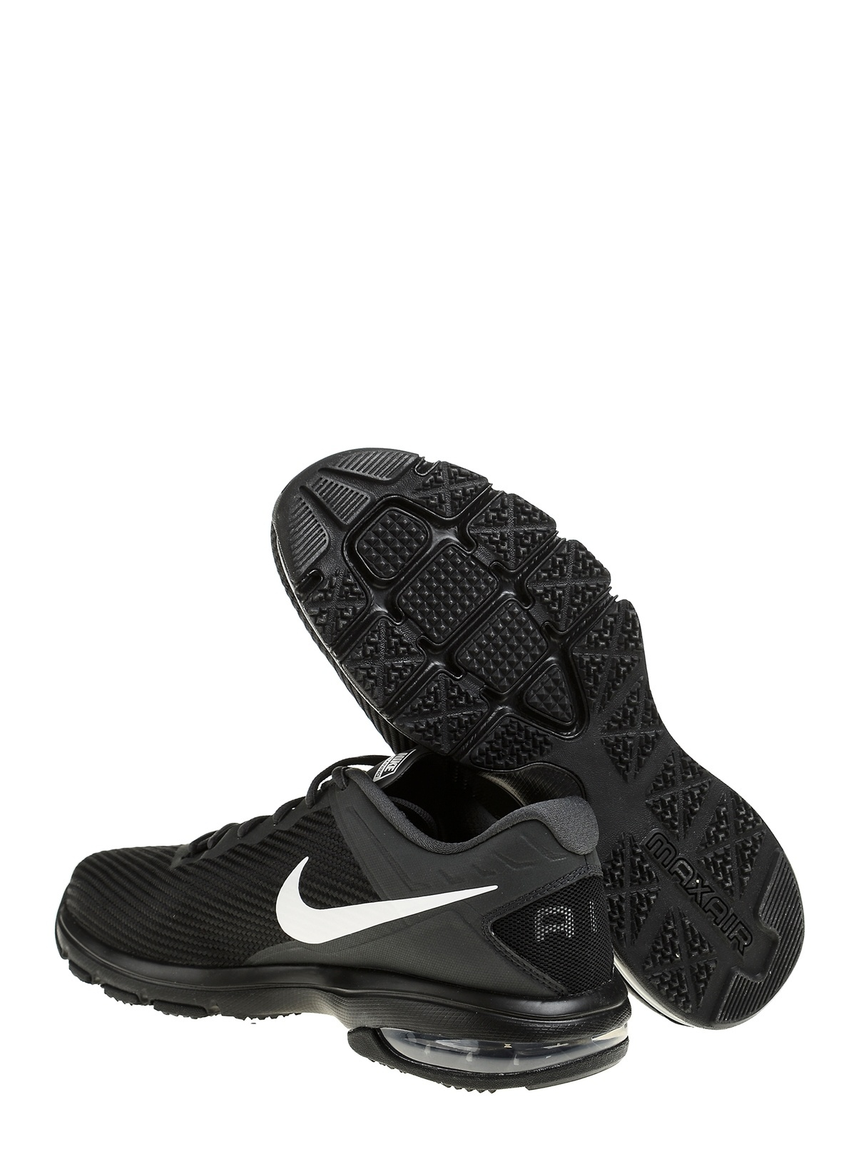 Nike Erkek Nike Air Max Full Ride Tr 1.5 Black White-Anthracite ... ac75ba48222f